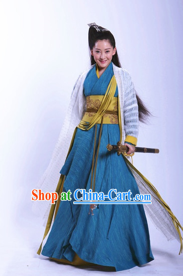 China Classical Female Superhero Clothing
