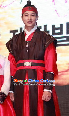Ancient South Korean Warrior Costumes for Men