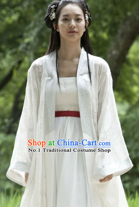 Korean Ancient Fairy Costumes and Hair Accessory for Women
