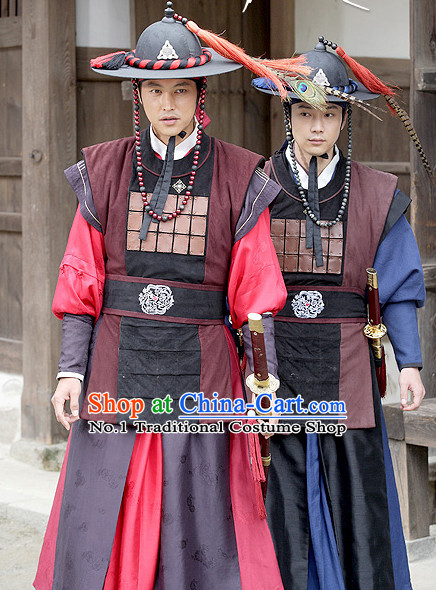 South Korean Palace Bodyguard Costumes Asian Fashion