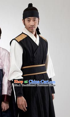 South Korean Traditional Clothing for Men