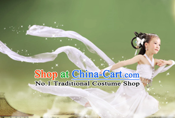 Ancient Chinese Flying Angel Costumes for Kids