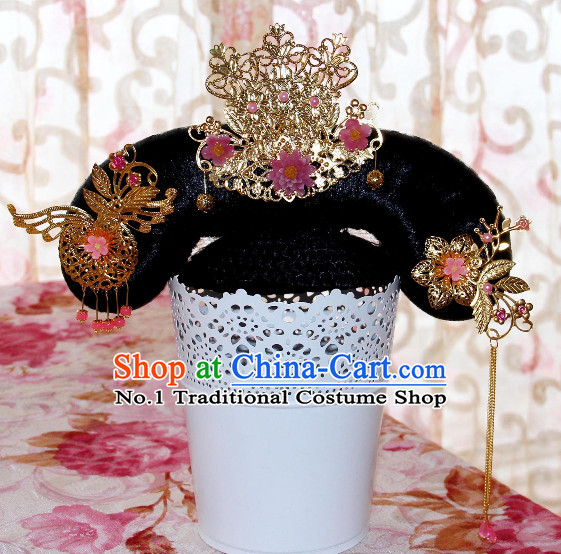 Chinese Traditional Manchu Princess Hair Accessories
