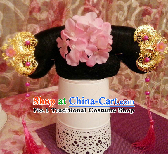 Chinese Traditional Manchu Princess Hair Decorations for Kids