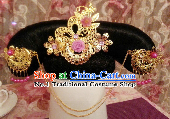 Chinese Traditional Qing Dynasty Princess Headwear for Women