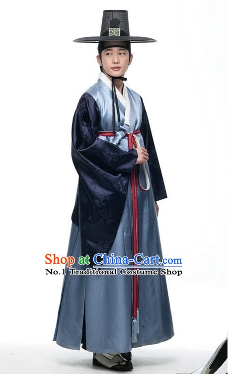 National Costume of Korea Traditional Korean Nobleman Costume for Men