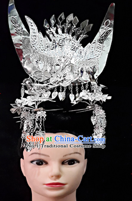Traditional China Silver Headwear
