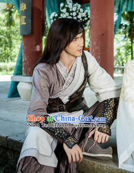 China Traditional Cavalier Costumes for Men
