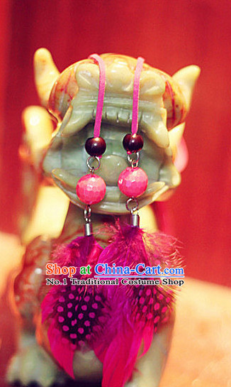 Asian Classical Dance Earrings