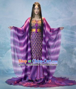 Asian Traditional Carnival Queen Costumes for Women