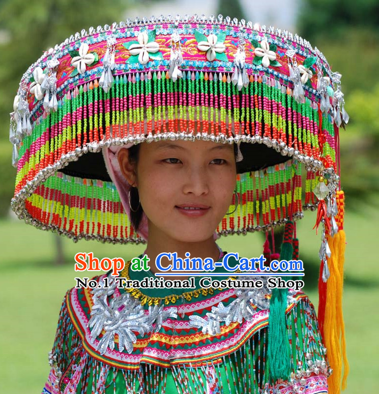 China Miao Ethnic Hat