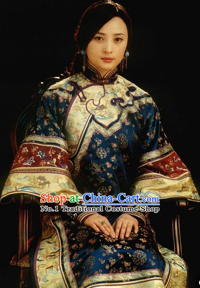 Chinese Han Minority Group Costume & Accessories
