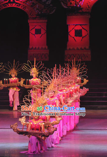 Chinese Dai Minority Group Costume & Accessories