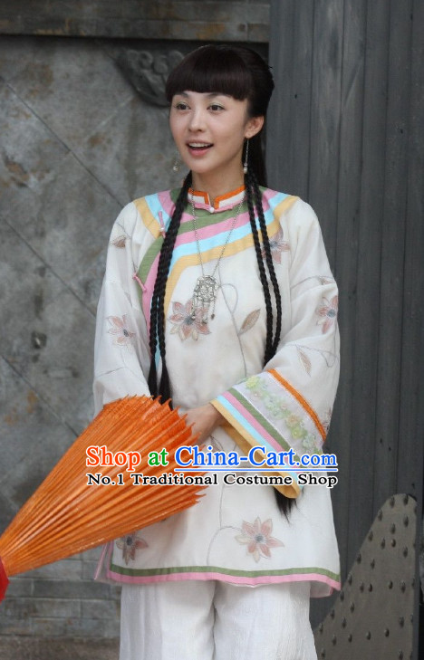 Chinese Minguo Clothing and Hair Jewelry