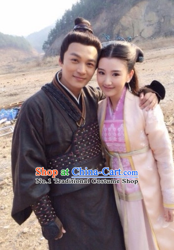 Chinese Superhero TV Play Guojing Costumes