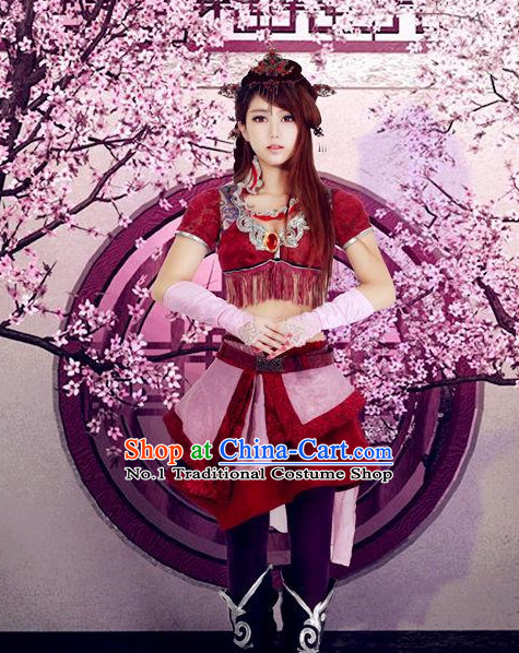 Asian Anime Costumes for Gilrs