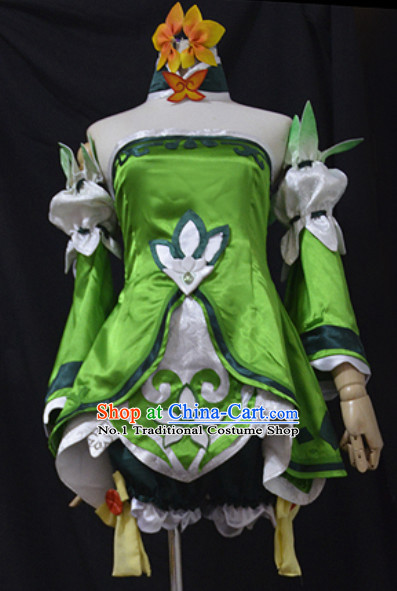 Japanese Style Anime Costumes for Girls