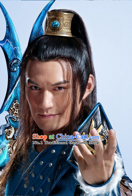Ancient China General Warrior Armor Coronet