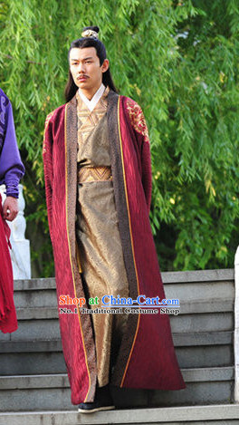 Chinese Traditional Minister Costumes for Men