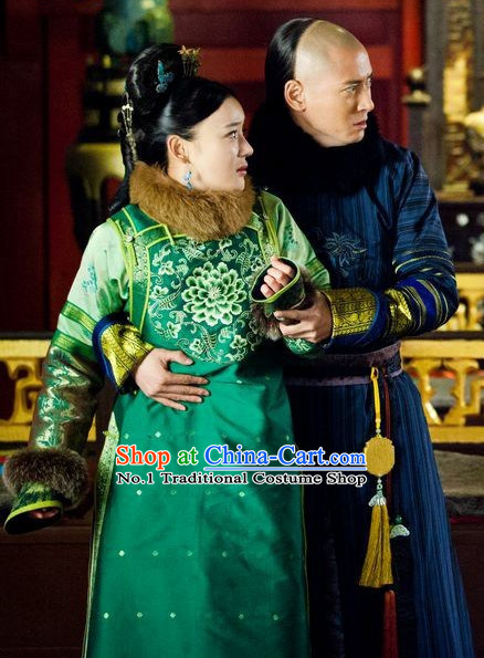 Chinese Traditional Daughters and Sons of Princes and Nobles Clothes