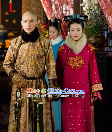 Chinese Traditional Prince and Nobles Dresses