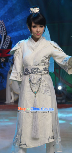 China Swordsmen Kung Fu Costumes for Women