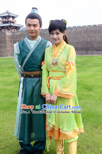 Chinese Theme Photography Costumes
