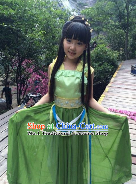 Chinese Lengend of the Ancient Sword TV Play Fairy Costumes for Kids