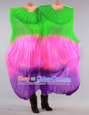 Silk Oriental Fans for Sale