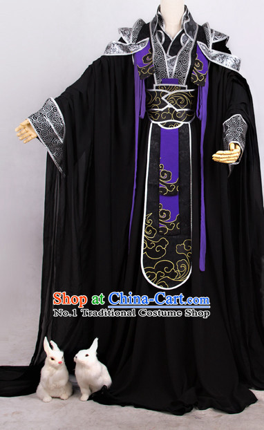 Oriental Prince Superhero Cosplay Costumes Complete Set for Men