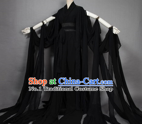 Black Chinese Cosplay Costume