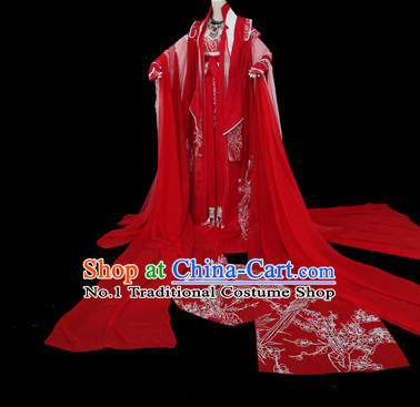 Chinese red weddings dresses