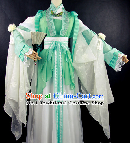 Chinese Traditional Costumes for Girls