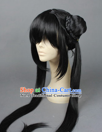 Chinese Black Hair Wig