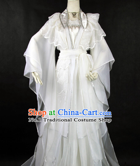 China Fashion Chinese White Nobleman Costumes