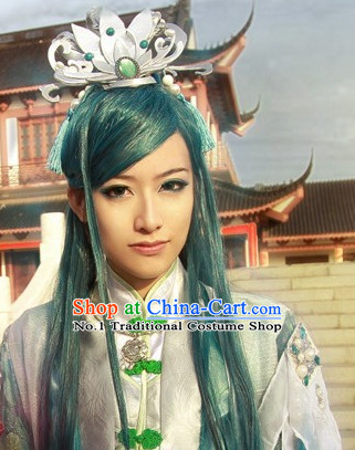 Chinese Fashion Halloween Hair Long Wig