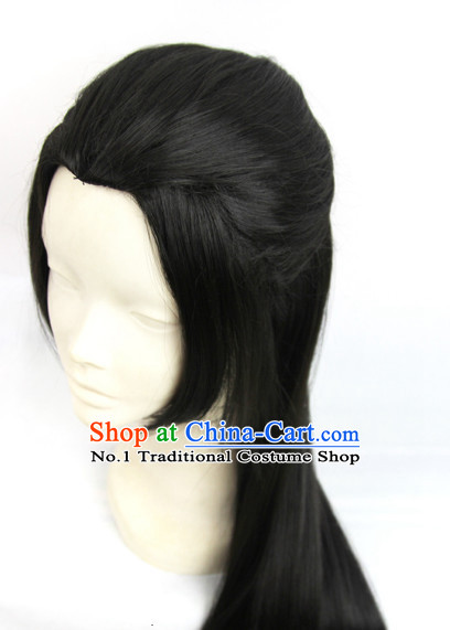 Chinese Fashion Long Black Wig