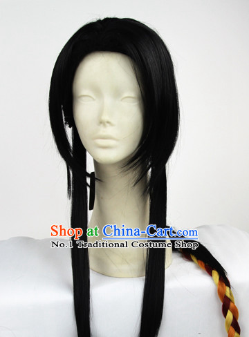 Chinese Fashion Long Black Hair Store Wig