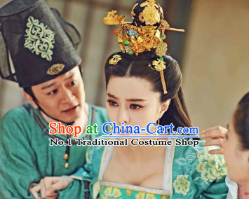 Chinese Traditional Fascinators Hair Accessories