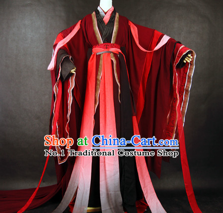Traditional Chinese Wedding Wear Complete Set for Men