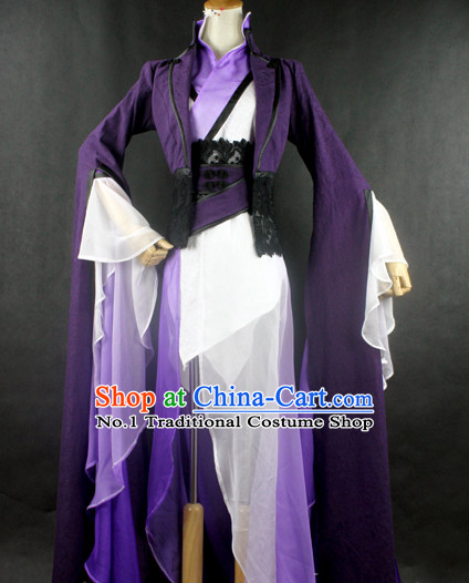 Traditional Swordswoman Costumes Sale on Clothing