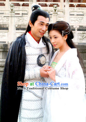 Chinese Husband and Wife Traditional Dress