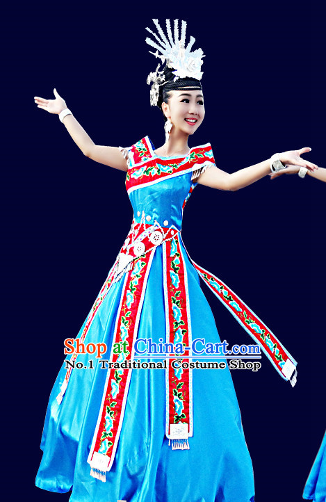 China Hmong Tribe Clothing for Women