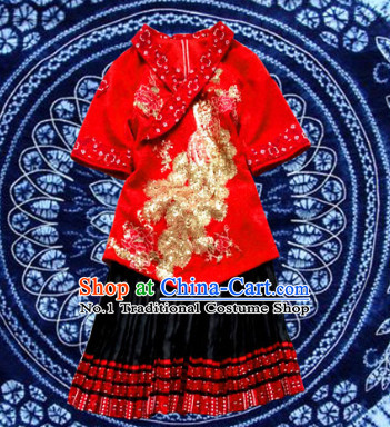 China Hmong Miao Suit for Women