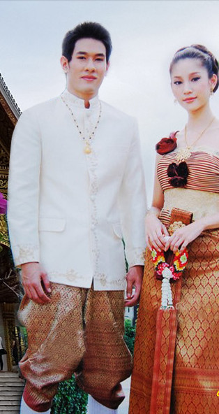 Formal Thai Wedding Dresses for Men and Women