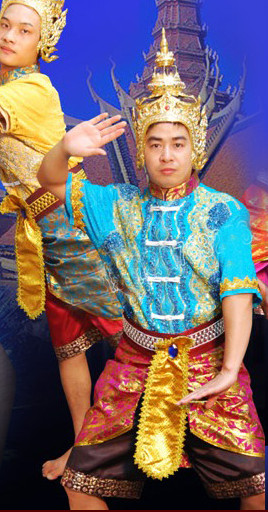 Formal Thai Dance Costumes for Men