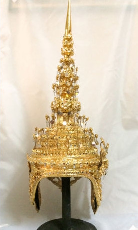 Traditional Thai Tower Shape Hat