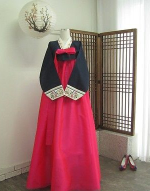Asian Korean Hanbok Clothing for Women