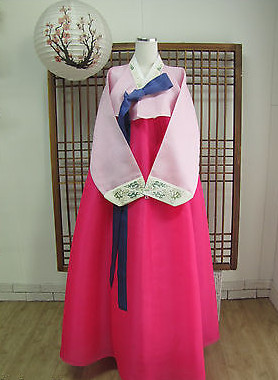 Asian Fashion Korean Hanbok Traditional Clothing for Women