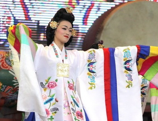 Korean Drum Dance Costumes for Ladies